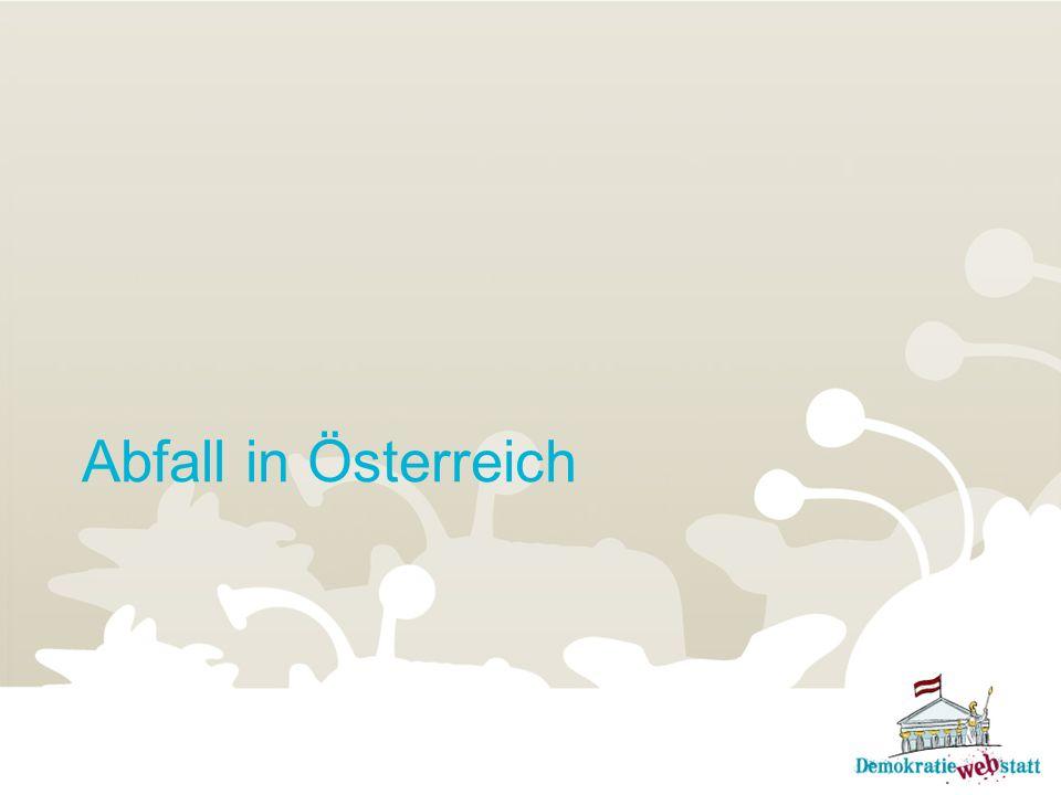 Abfall in Österreich