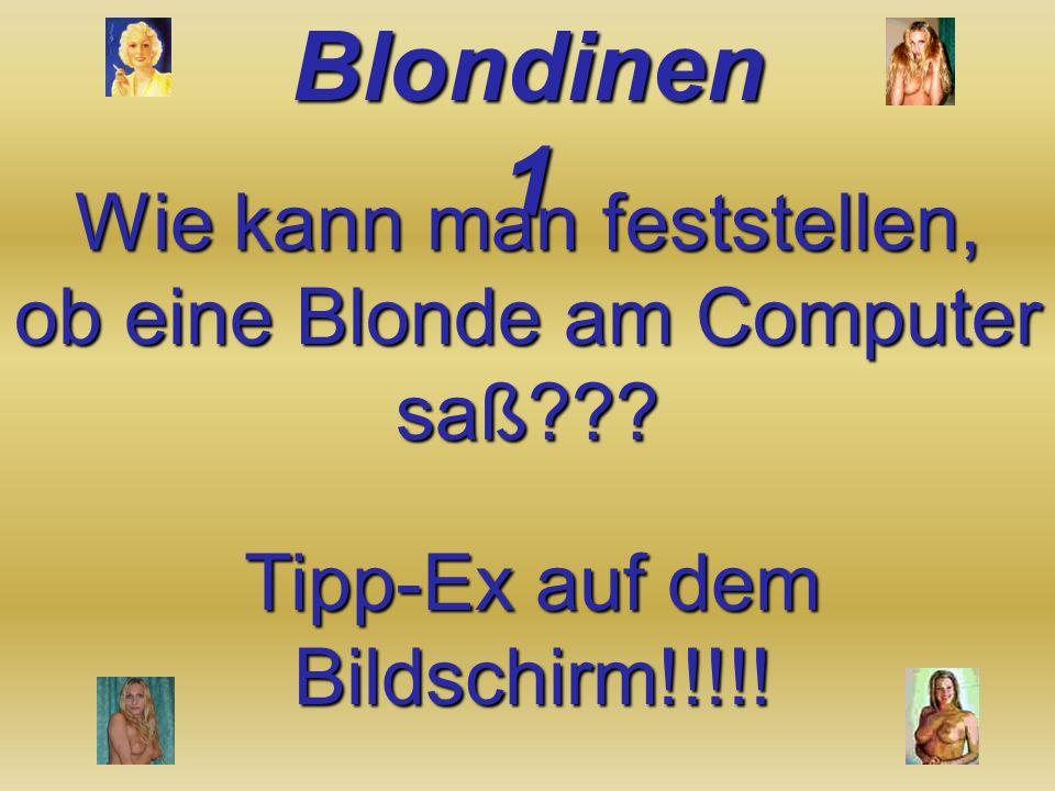 Wann ist eine Blondie 1 Euro wert? Wenn sie einen Einkaufswagen schiebt!