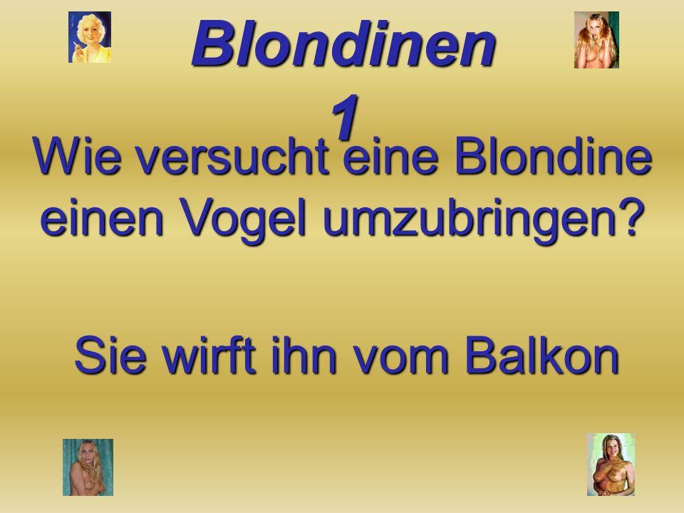 Warum haben es Blondinen so schwer mit dem Heiraten? Weil Sex nicht der einzige Grund ist