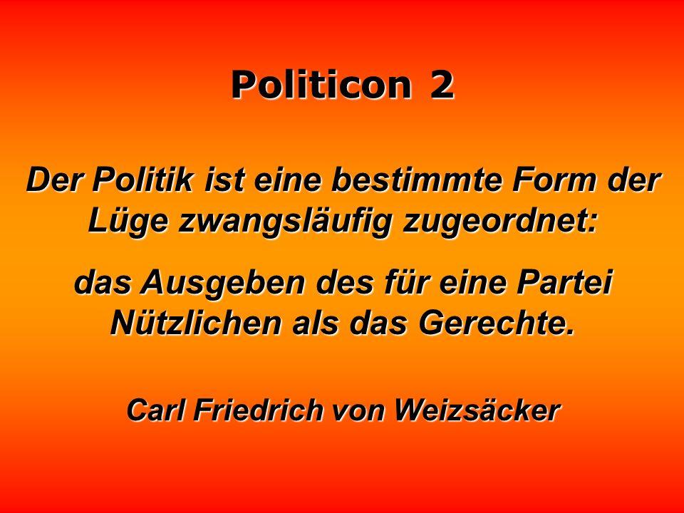 Politicon 2 Das Schmieren von Politikern ist turnusmäßig durchzuführen, damit eine festgefahrene Politik immer mal wieder ins Rutschen kommt. Loriot