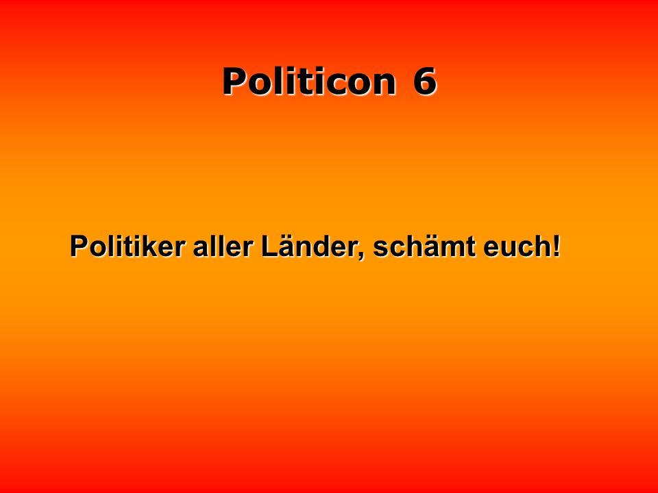Politicon 6 Keiner fragt, Politiker antworten Keiner fragt, Politiker antworten.