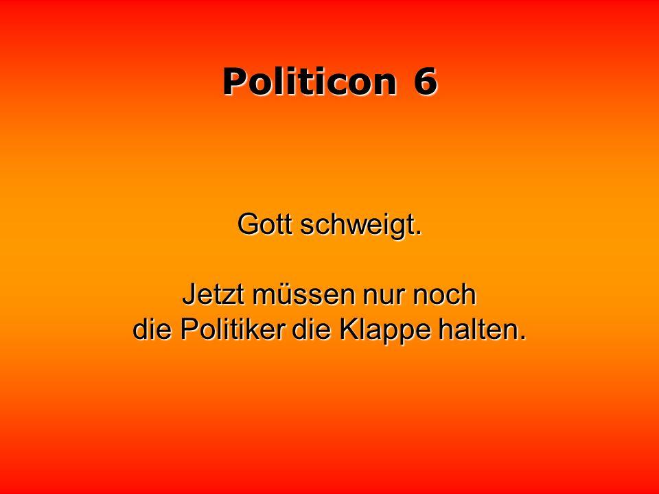 Politicon 6 Verrat in der Politik ist in erster Linie eine Frage des Datum