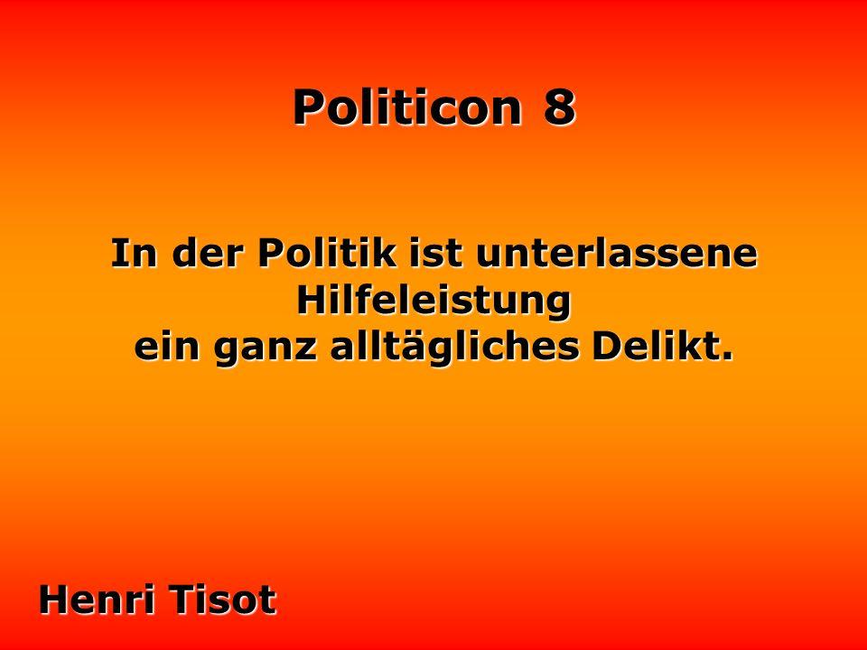 Politicon 8 Angenommen, es gäbe wirklich eine Demokratie - was machten wir dann mit den Politikern.