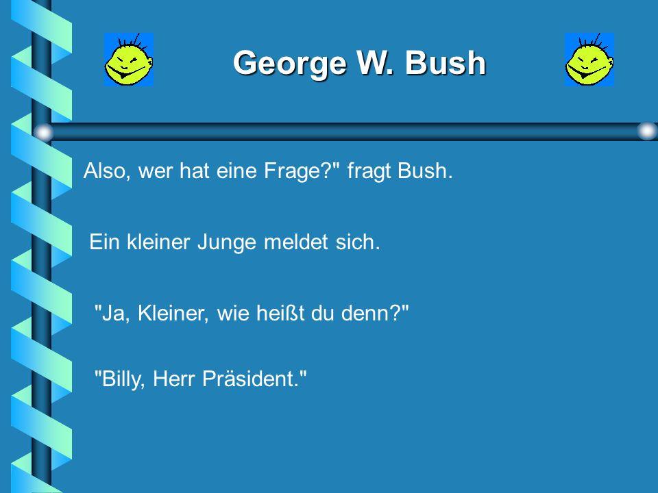George W. Bush George W.
