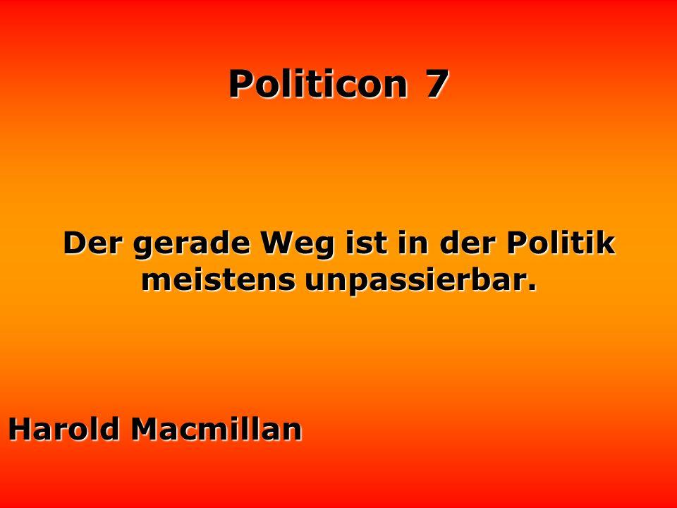 Politicon 7 Wenn ich die Politiker verarsche, spreche ich den Leuten aus der Seele. Rudi Carrell