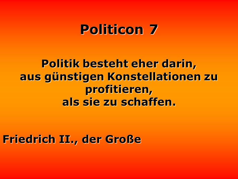 Politicon 7 Warum sollten sich Schauspieler nicht für Politik interessieren? Es gibt ja auch Politiker, die sehr gute Schauspieler sind. Hans-Joachim