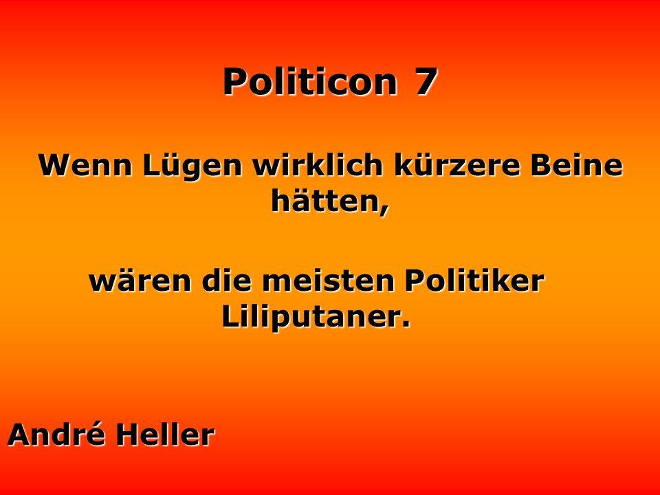 Politicon 7 Rhetorik ist deshalb ein Problem, weil es schwierig ist, gleichzeitig zu reden und zu denken. Politiker entscheiden sich meistens für eine
