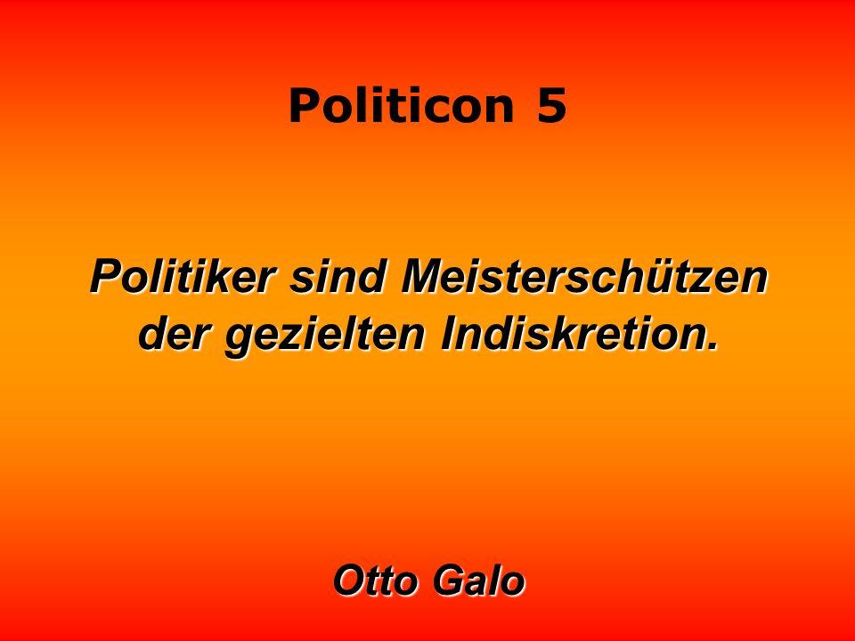 Politicon 5 Politiker mit geringem Anpassungsvermögn bleiben noch eine ganze Weile nach Wahlen höflich.