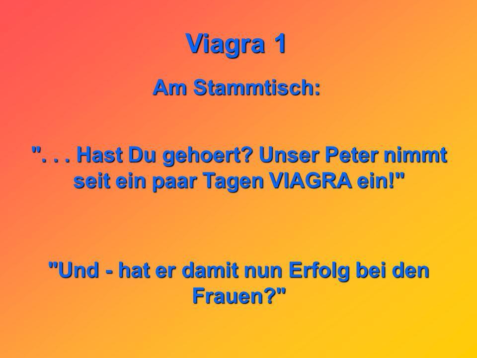 Viagra 1 Als Nebenwirkung von Viagra ist das mögliche und vorübergehende Nachlassen der Sehkraft der Augen bekannt: Nach dem Viagra-Rodeo sagt der Lie