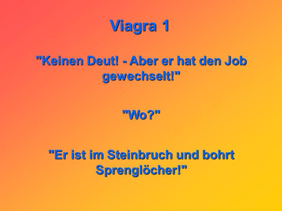 Viagra 1 Am Stammtisch: