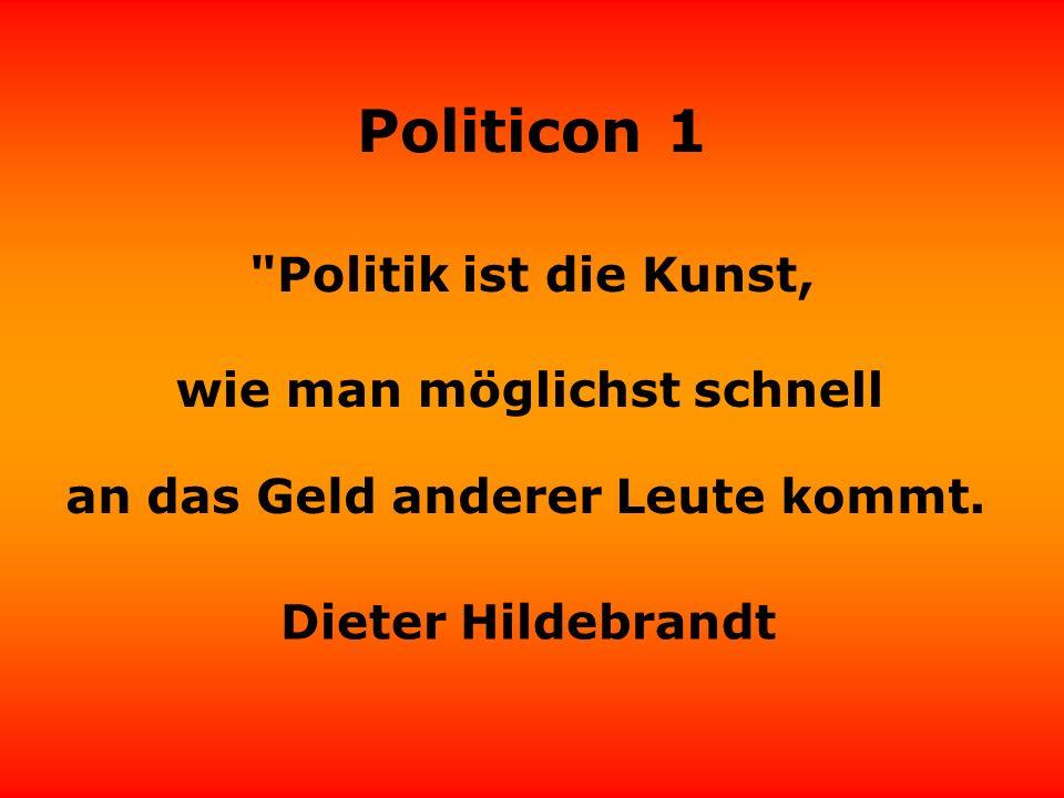 Politicon 1 Von wegen, Politiker haben keine Visionen - Volker Pispers die haben sogar Provisionen!