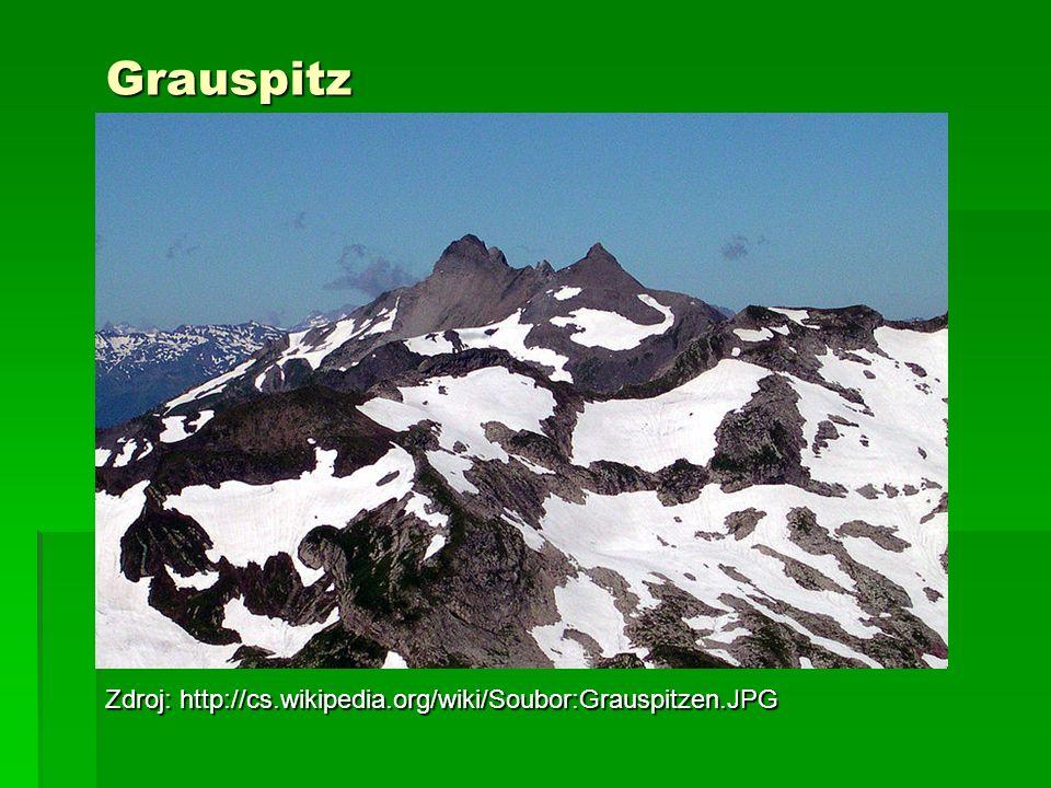 Grauspitz Zdroj: http://cs.wikipedia.org/wiki/Soubor:Grauspitzen.JPG