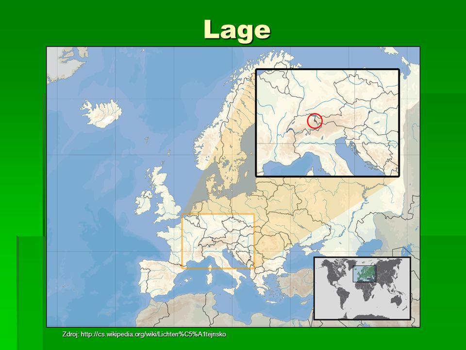 Liechtenstein ist ein Zwergstaat im Alpengebiet zwischen der Schweiz und Österreich Liechtenstein ist ein Zwergstaat im Alpengebiet zwischen der Schweiz und Österreich Die gesamte Grenze ist etwa 75 km lang Die gesamte Grenze ist etwa 75 km lang