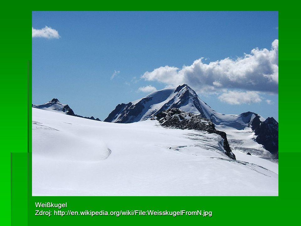 Weißkugel Zdroj: http://en.wikipedia.org/wiki/File:WeisskugelFromN.jpg
