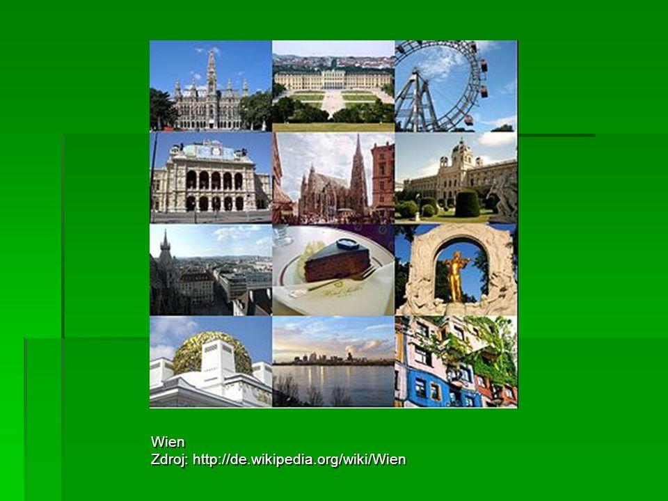 Wien Zdroj: http://de.wikipedia.org/wiki/Wien