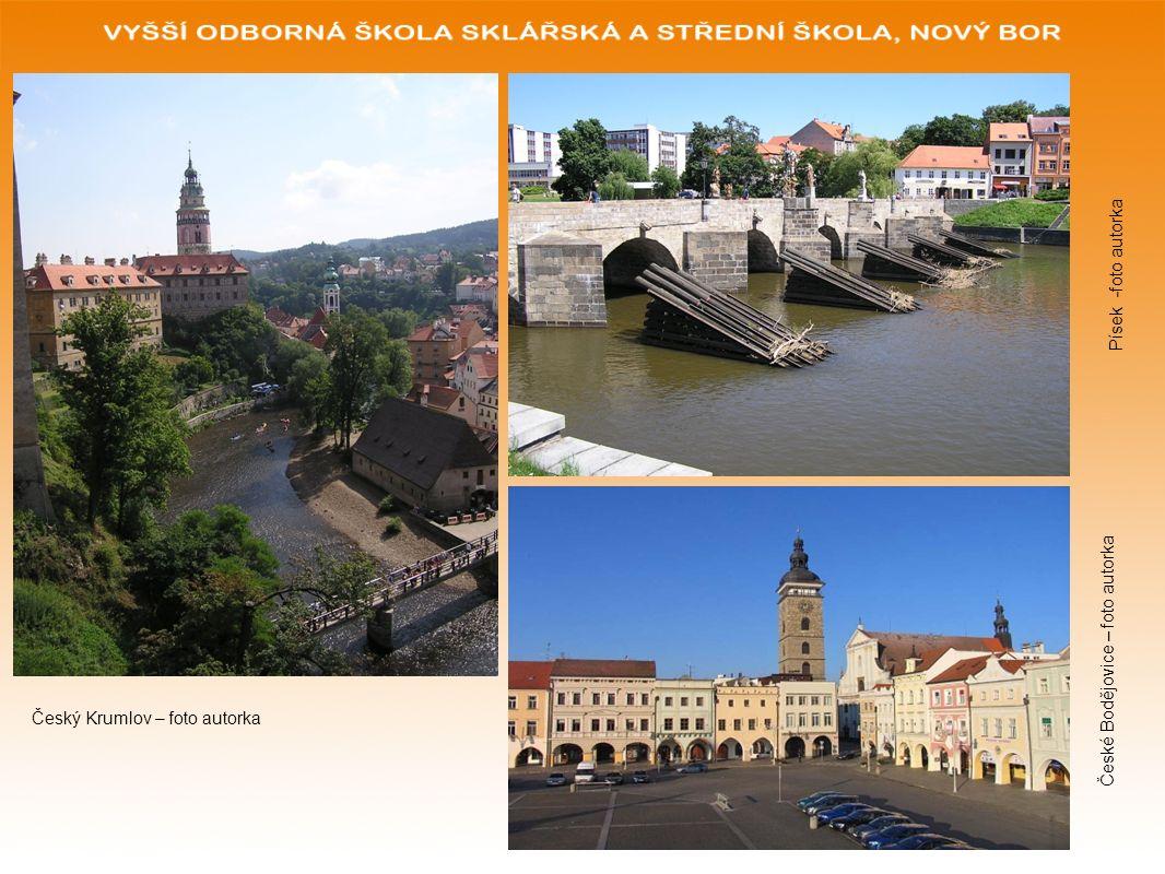Wiederholung zum Thema Stellen Sie sich folgende Situation vor: Sie sind Reiseleiter/ Reiseleiterin einer Reisegruppe nach Südböhmen.