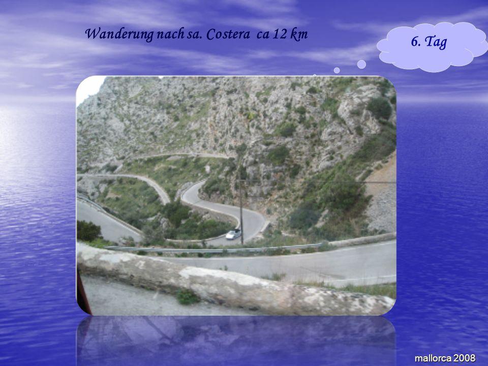 mallorca 2008 6. Tag Wanderung nach sa. Costera ca 12 km