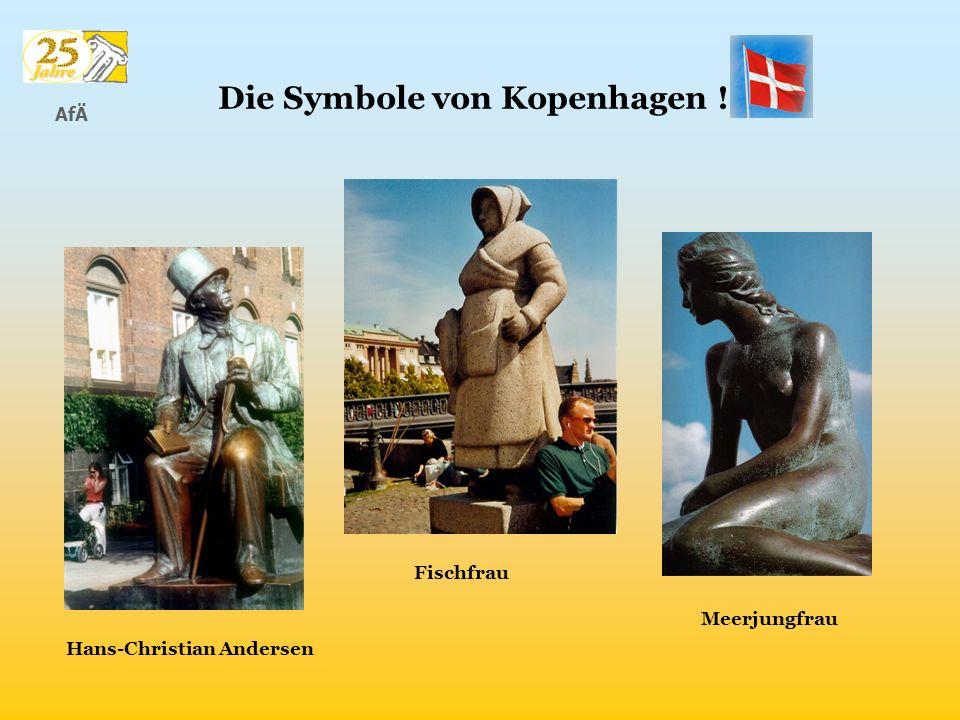 AfÄ Hans-Christian Andersen Die Symbole von Kopenhagen ! Fischfrau Meerjungfrau