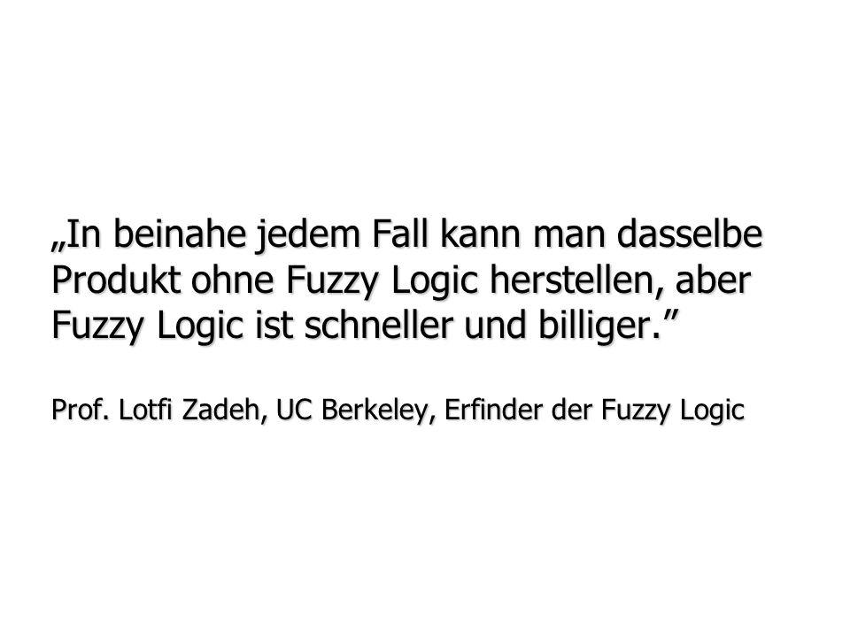 Was ist Fuzzy ? Was ist Fuzzy Logic? Entwicklungsgeschichte Fuzzy Logic Entwicklungsgeschichte Fuzzy Logic Information und Komplexität Information und