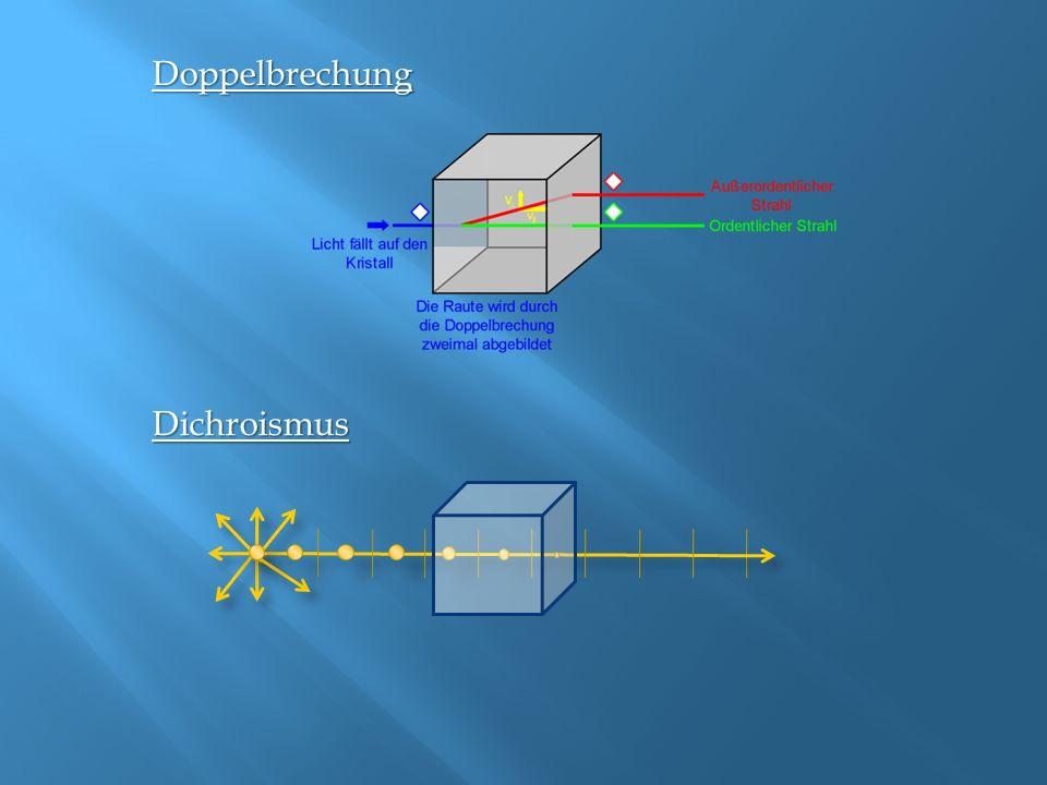Berechnung: Berechne den Polarisationsgrad P des reflektierten Lichtes, das mit dem Winkel α = 45° auf eine Glasplatte mit der Brechzahl n = 1.5 einfällt.