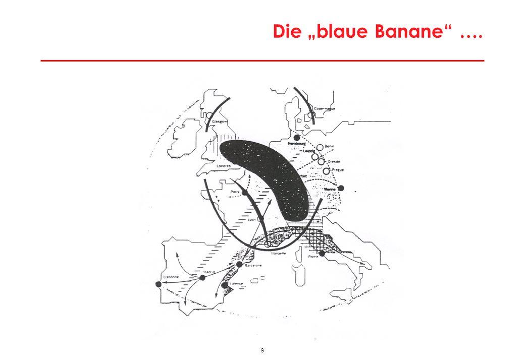 9 Die blaue Banane ….