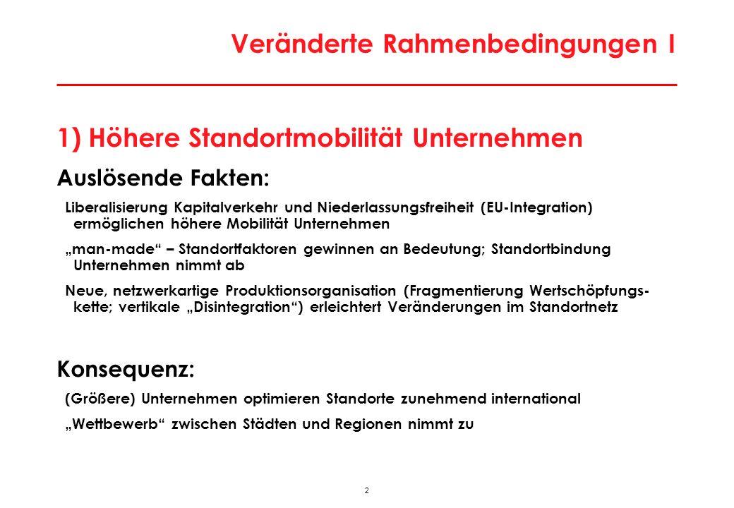 43 2011_01_regwien Exportintensität der regionalen Industrie Q: Joanneum Research; Statistik Austria; WIFO-Berechnungen.
