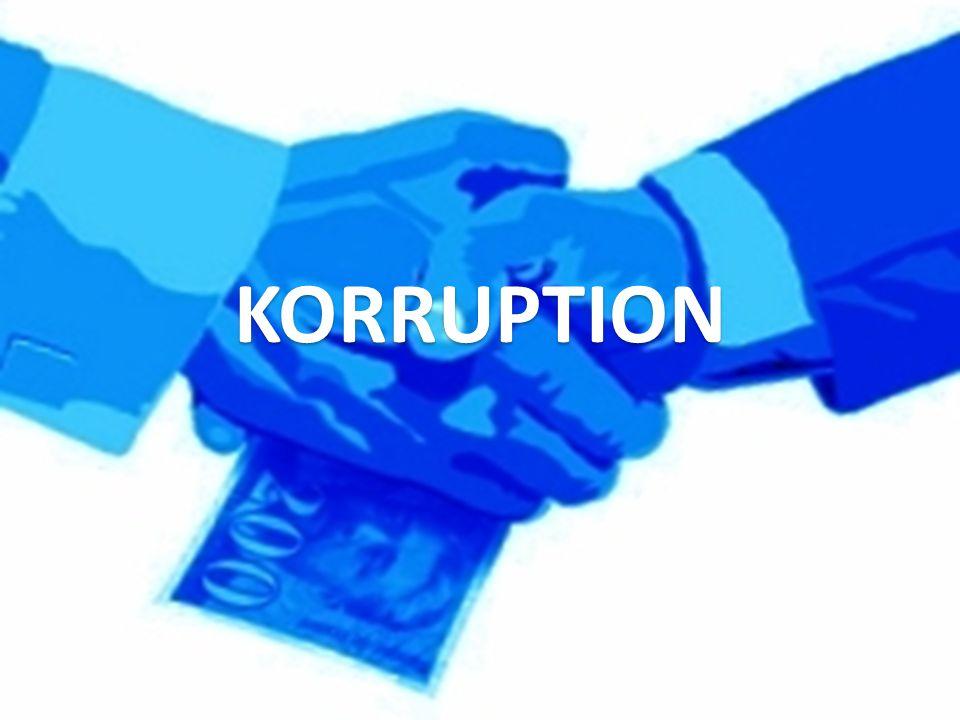KORRUPTION KORRUPTION
