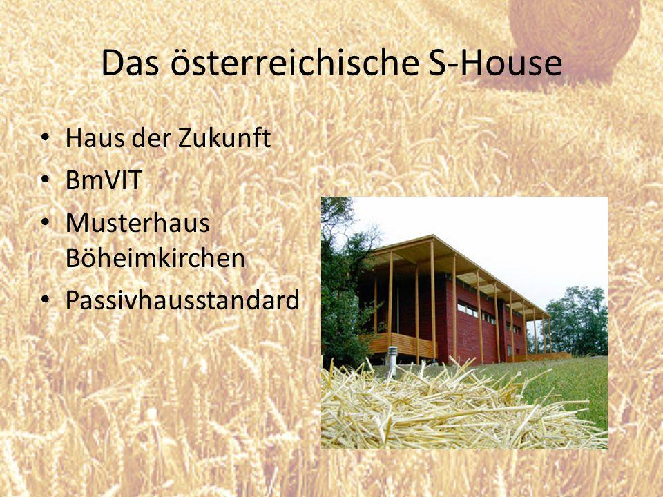 Das österreichische S-House Haus der Zukunft BmVIT Musterhaus Böheimkirchen Passivhausstandard