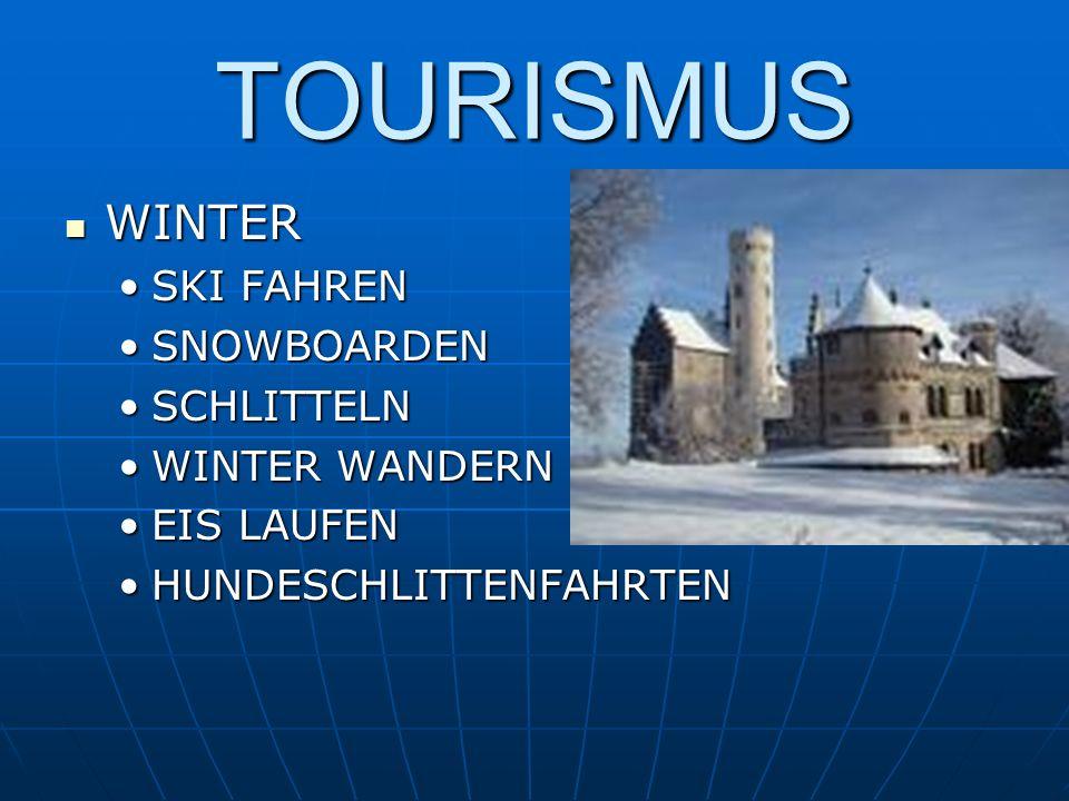 TOURISMUS WINTER WINTER SKI FAHRENSKI FAHREN SNOWBOARDENSNOWBOARDEN SCHLITTELNSCHLITTELN WINTER WANDERNWINTER WANDERN EIS LAUFENEIS LAUFEN HUNDESCHLIT