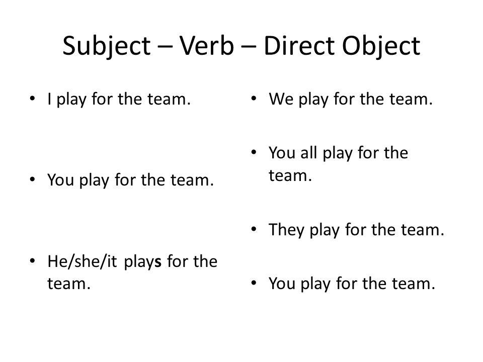 Indirect Object Ich spiele mit meinen Freunden.Du spielst mit meinen Freunden.