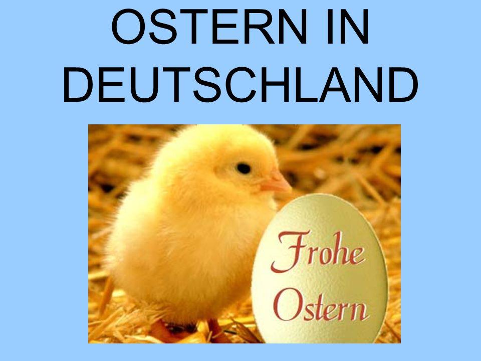 OSTERN IN DEUTSCHLAND