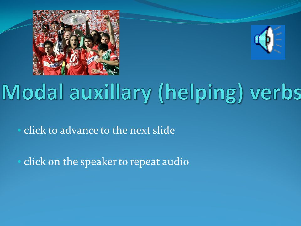 click to advance to the next slide click on the speaker to repeat audio