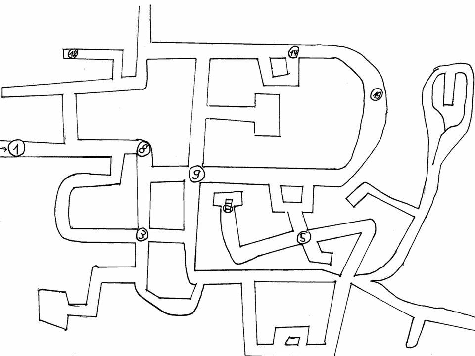 19 Es stand: Im dritten Untergeschoss ist eine riesige Platinmine.