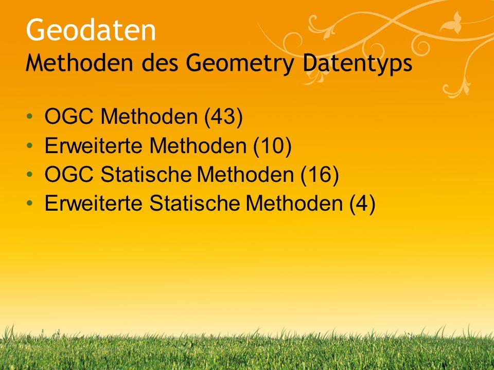 Daniel Walzenbach, Microsoft Deutschland GmbH Geodaten weiterverarbeiten