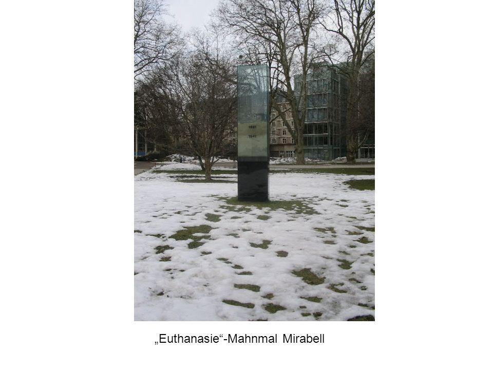 Euthanasie-Mahnmal Mirabell