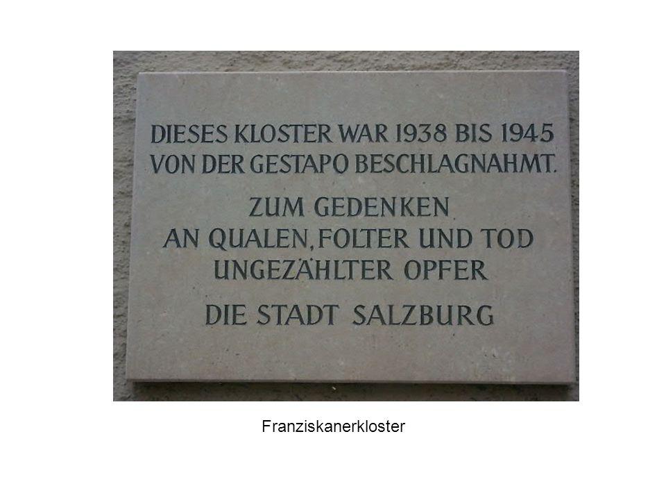 Mahnmal 1985: Initiative für ein Mahnmal Hauptproblem/Grund für Auseinandersetzungen: Standort des Denkmals Reaktionen der Anrainer Dezember 1985 enthüllt, eine Gedenkkundgebung mit Kranzniederlegung statt.