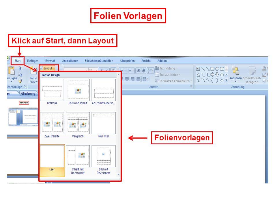 Verfügbare Programme, und weitere Funktionen Start im Bildschirm unten links Herunterfahren und weitere Funktionen Programmsuche Schnellsuche START Klick auf Start = Programm- Auswahl