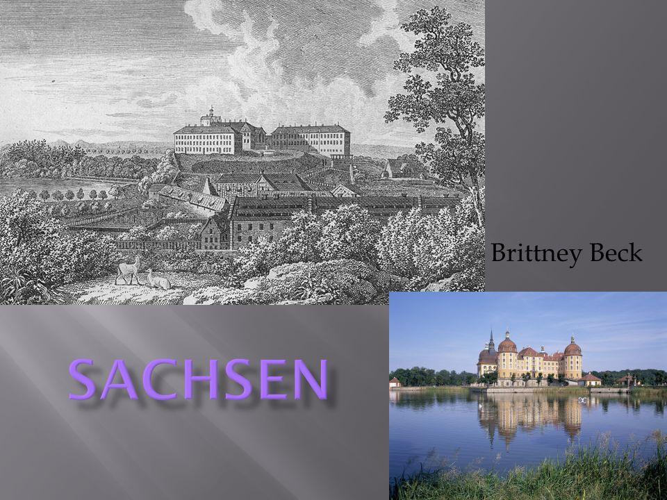 Sachsens Industrie ist Wein und Bergbau/Mienen.