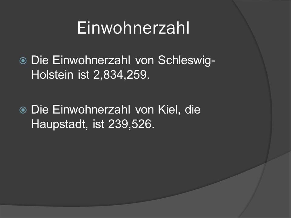 Industrie Schleswig-Holstein hat viele Industrien.