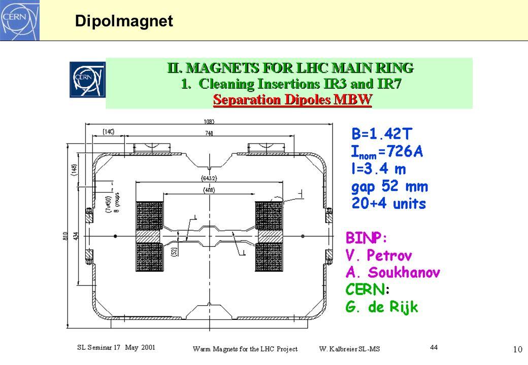 10 Dipolmagnet