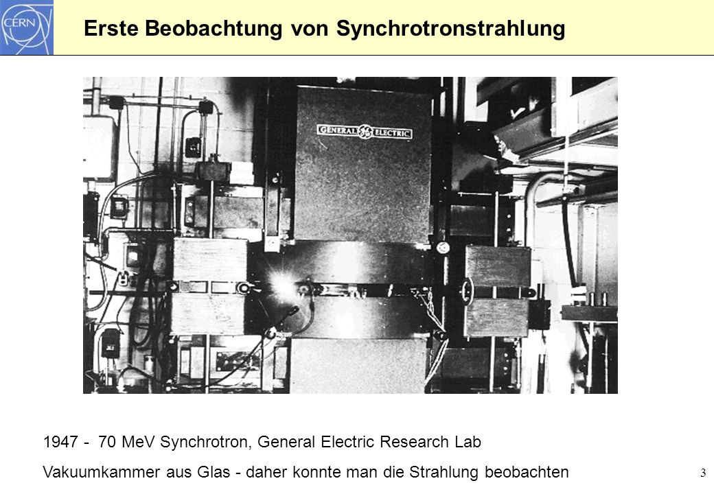 Theorie der Synchrotronstrahlung: Larmorgleichung