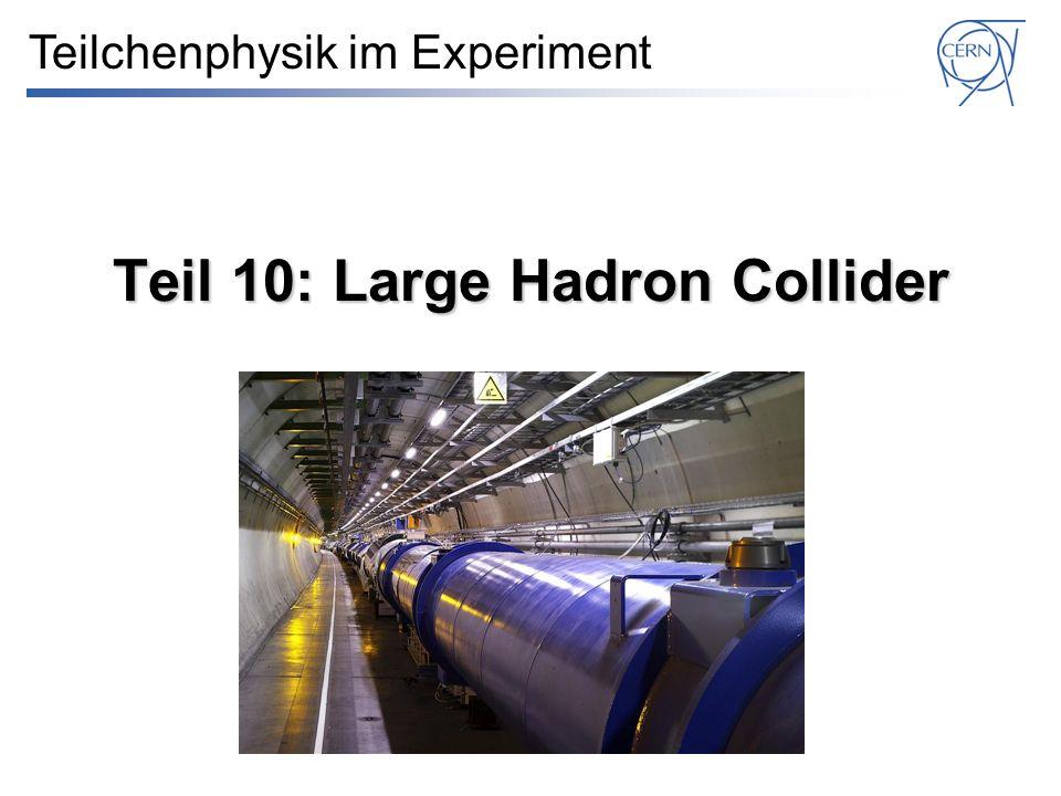 Quelle (90 keV) LINAC2 (50 MeV) Proton Synchrotron Booster (1,4 GeV) LHC und Vorbeschleuniger