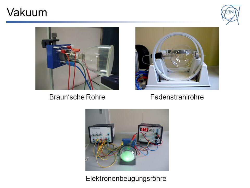 Braunsche RöhreFadenstrahlröhre Elektronenbeugungsröhre Vakuum