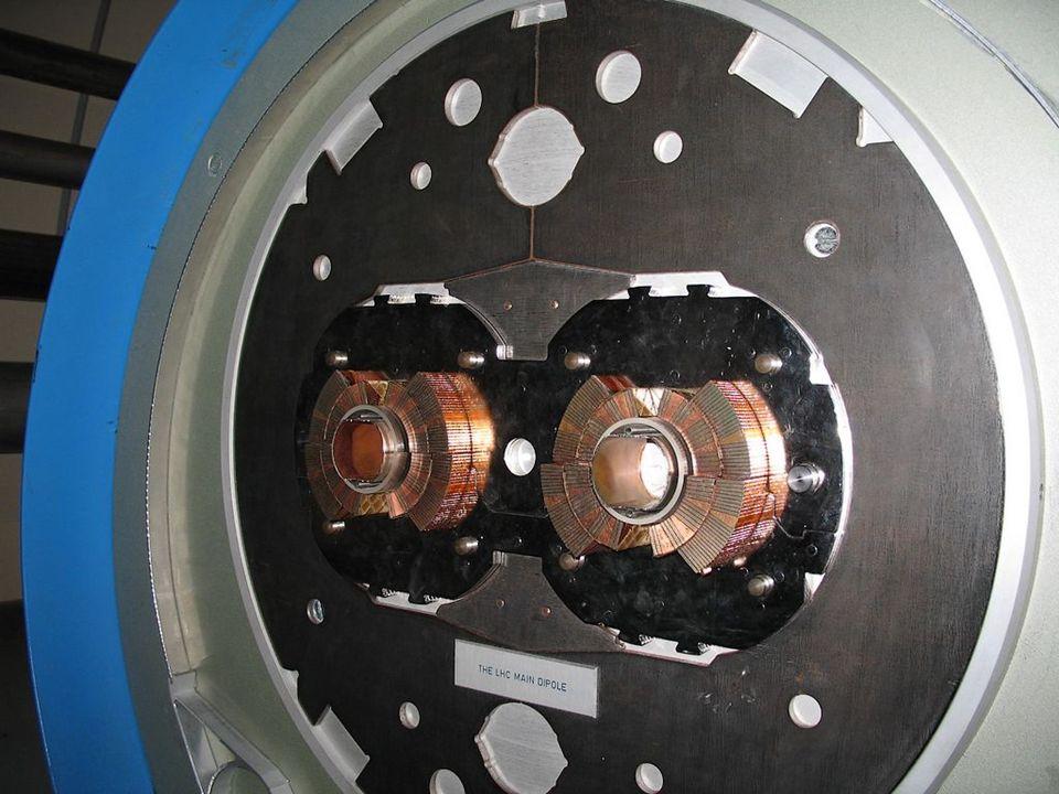 Collider p p Einschleusung Ablenkmagnet (Dipol)
