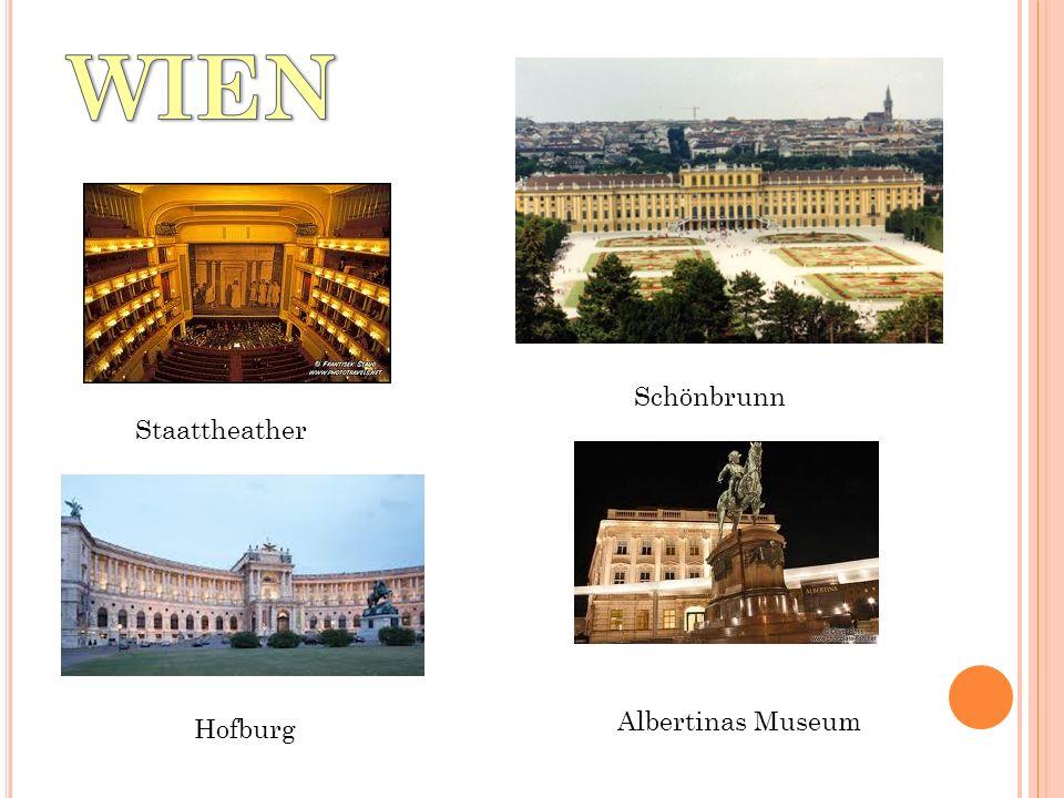 Staattheather Schönbrunn Hofburg Albertinas Museum