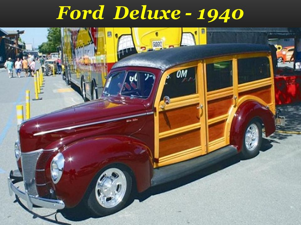 Ford Deluxe - 1939