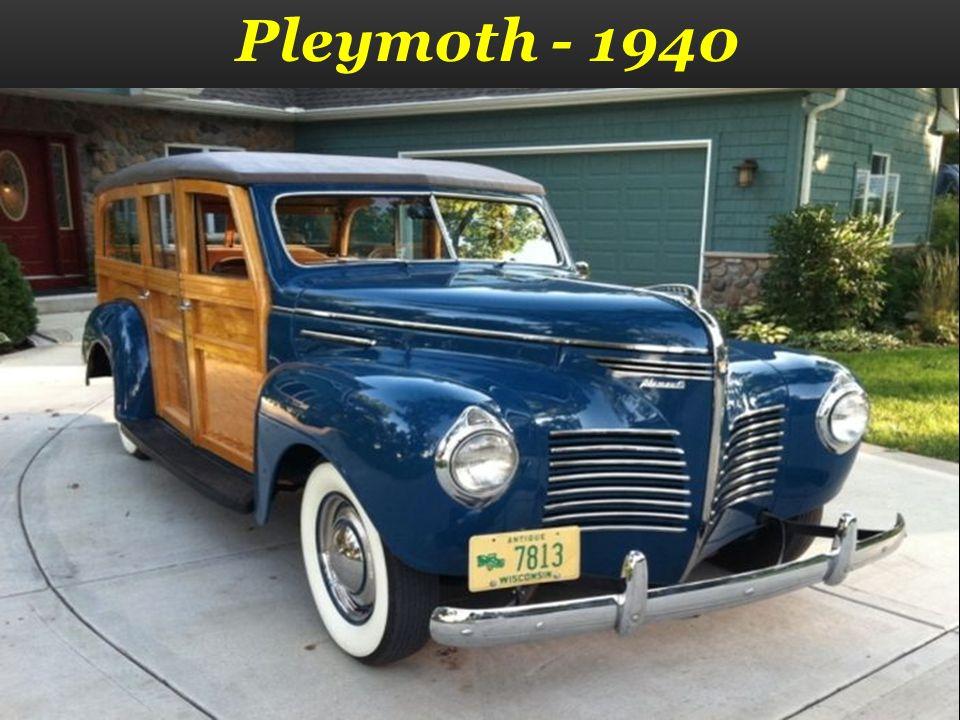 Pleymoth - 1940