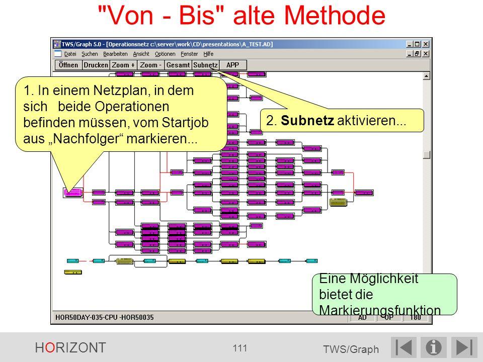 Von - Bis alte Methode 2.Subnetz aktivieren...