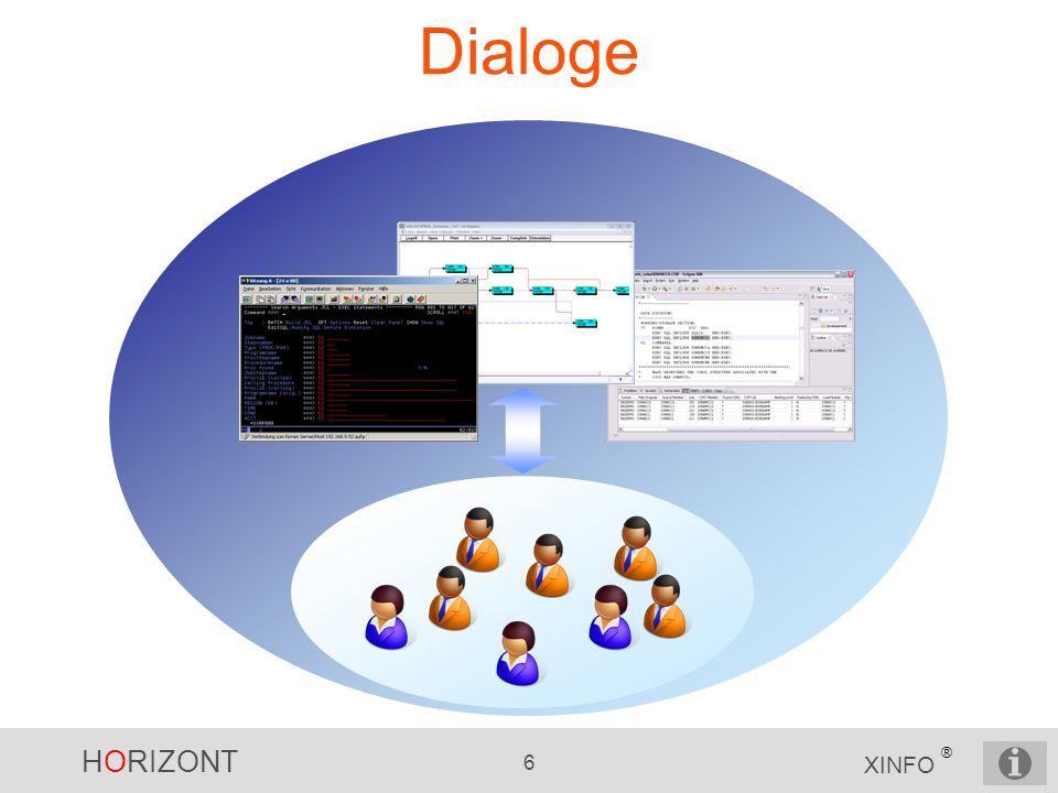 HORIZONT 6 XINFO ® Dialoge