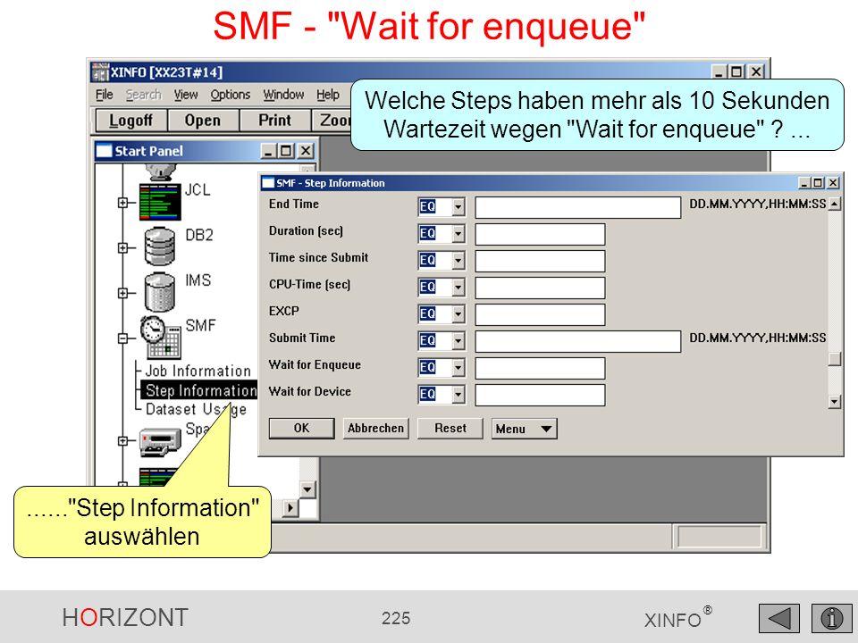 HORIZONT 225 XINFO ® SMF -